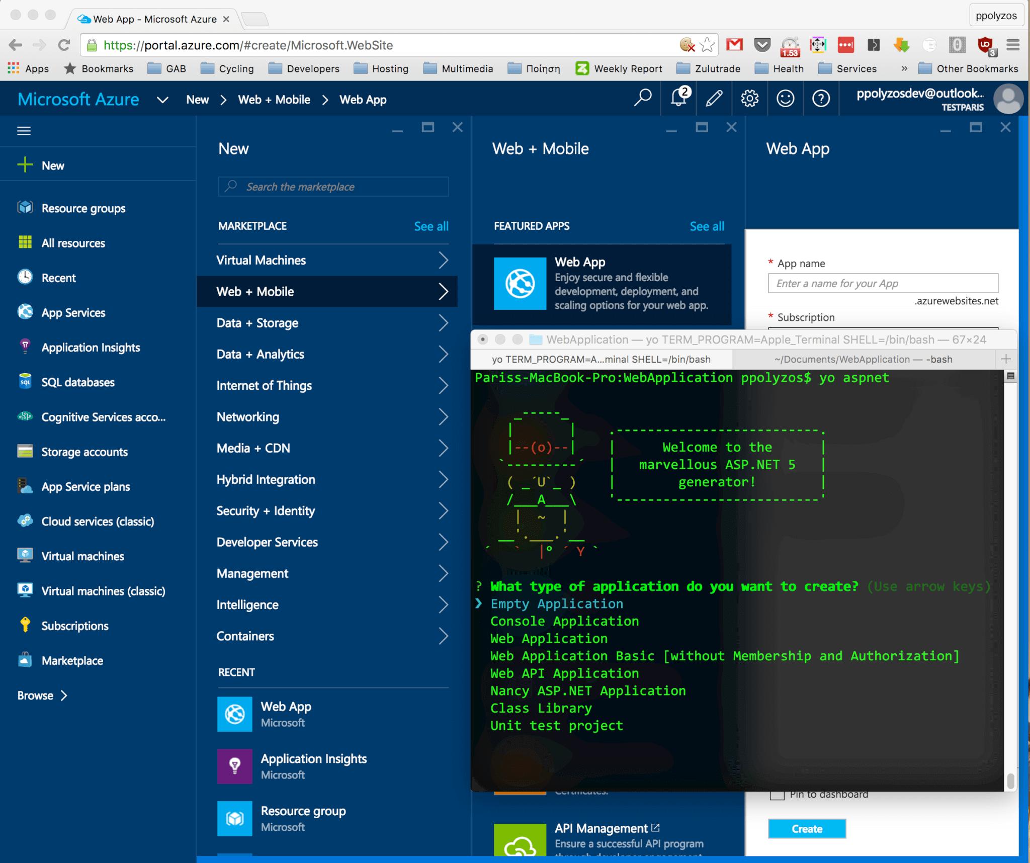 ASP NET 5 and SignalR on Mac – Paris Polyzos' blog