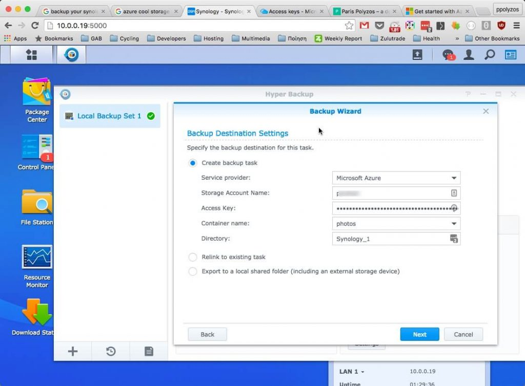 synology-link-azure-storage-account