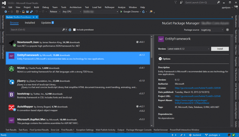 nuget-package-manager-ui