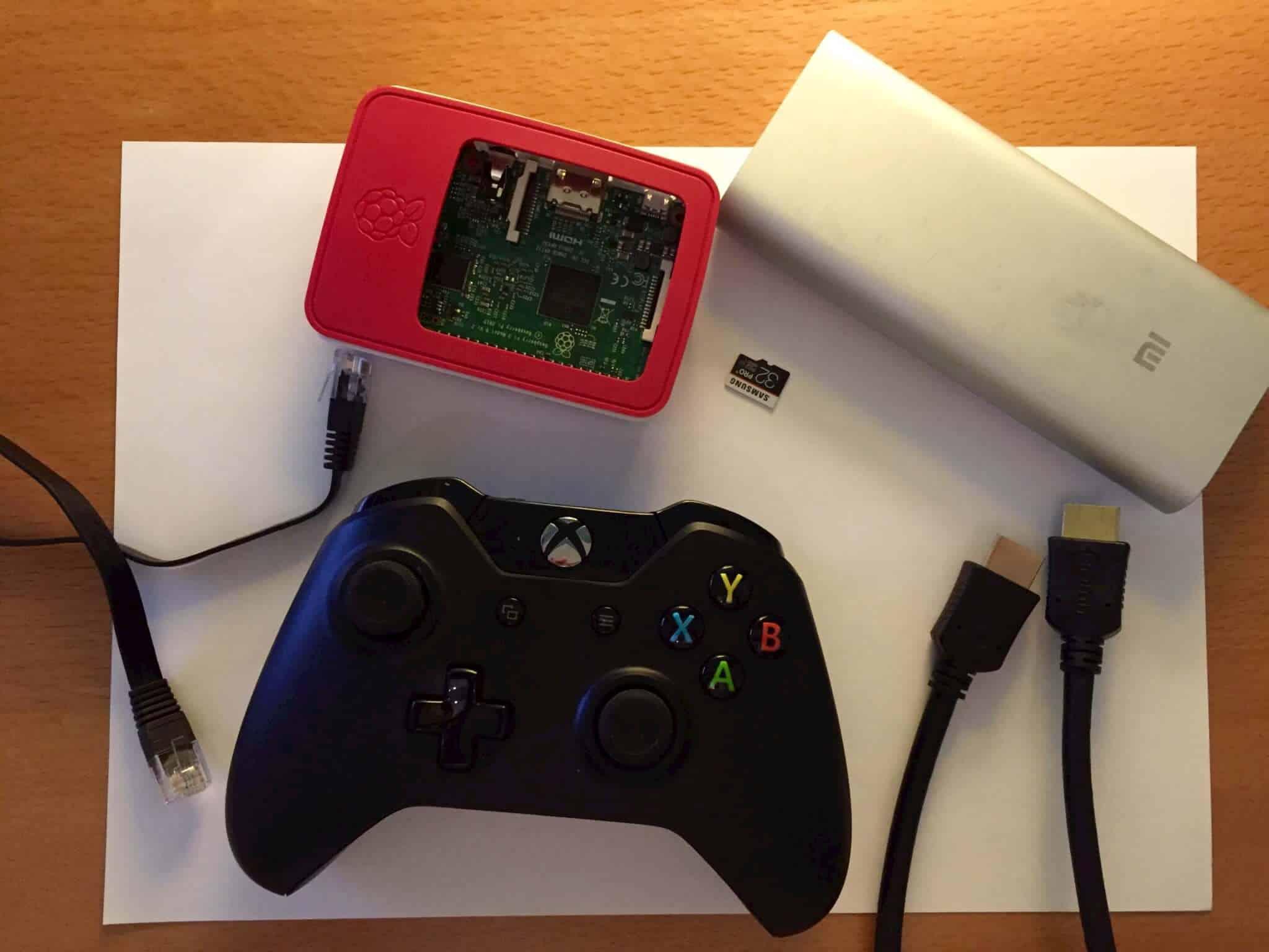 RetroPie on Raspberry PI 3 with Xbox One Controller – Paris