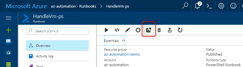 Call your Azure Automation runbooks using webhooks – Paris