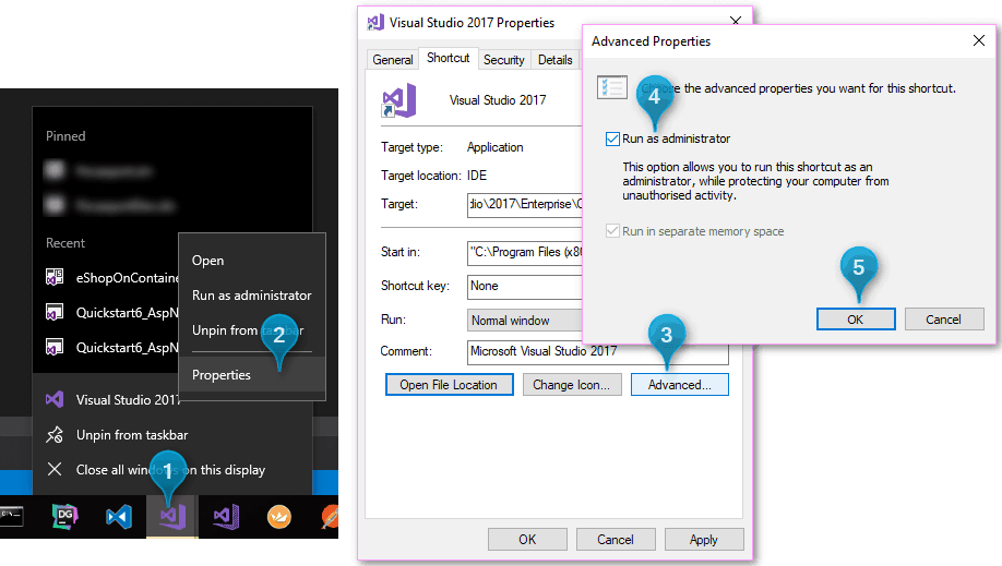 Always run Visual Studio as Administrator – Paris Polyzos' blog