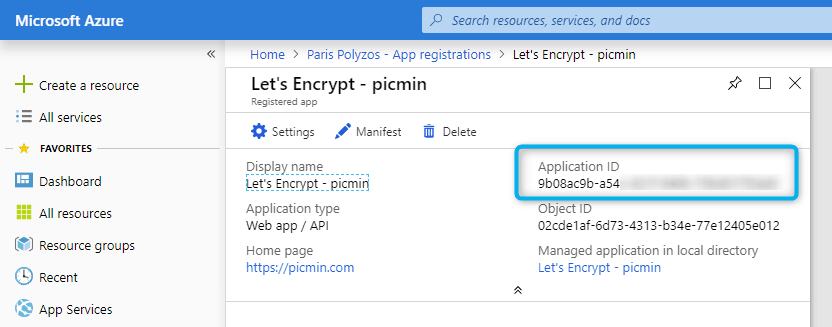 Secure your Azure Web App using SSL Certificate provided by