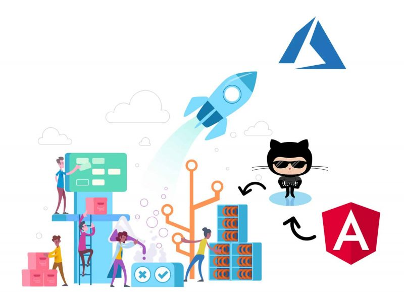 Publish an Angular web app to Azure using GitHub