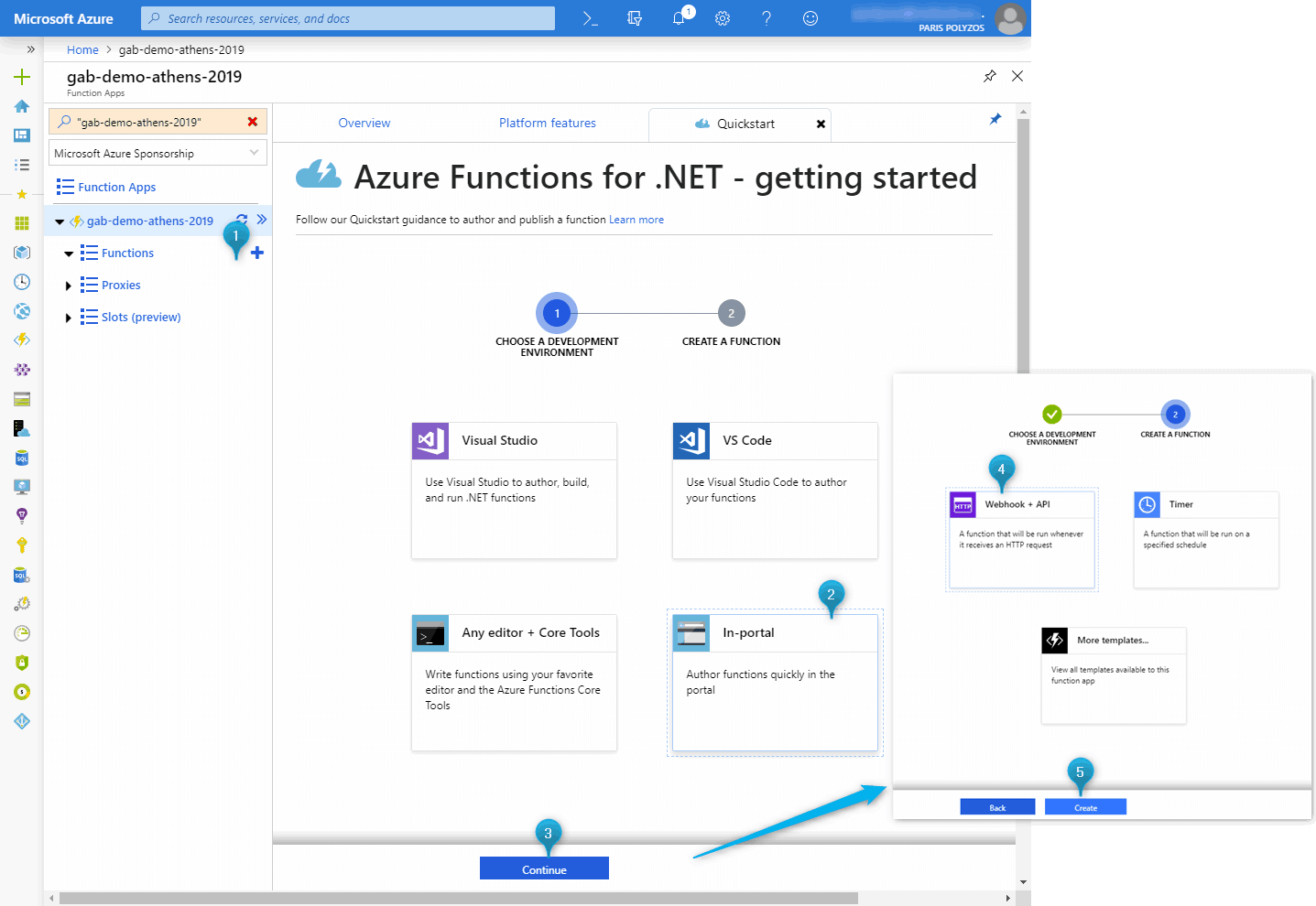 How to rename an Azure Function in Azure Portal – Paris